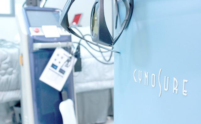 デリケートゾーンのレーザー治療の風景